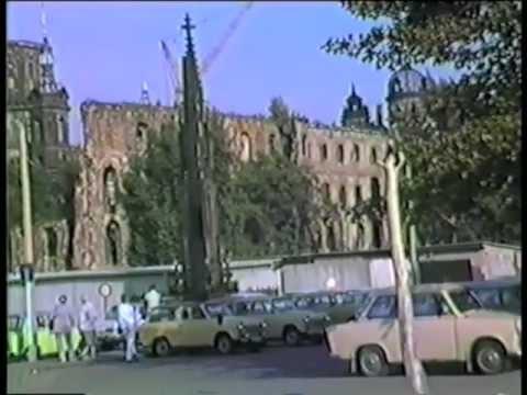 Dresden DDR 5 Oktober 1987