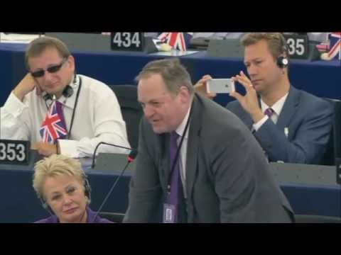 A Juncker for Democracy - William Dartmouth bluecards Socialist leader