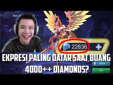 BUANG 4000 DIAMONDS++ BUAT SKIN BARU FREYA.. HAHAHA - Mobile Legends