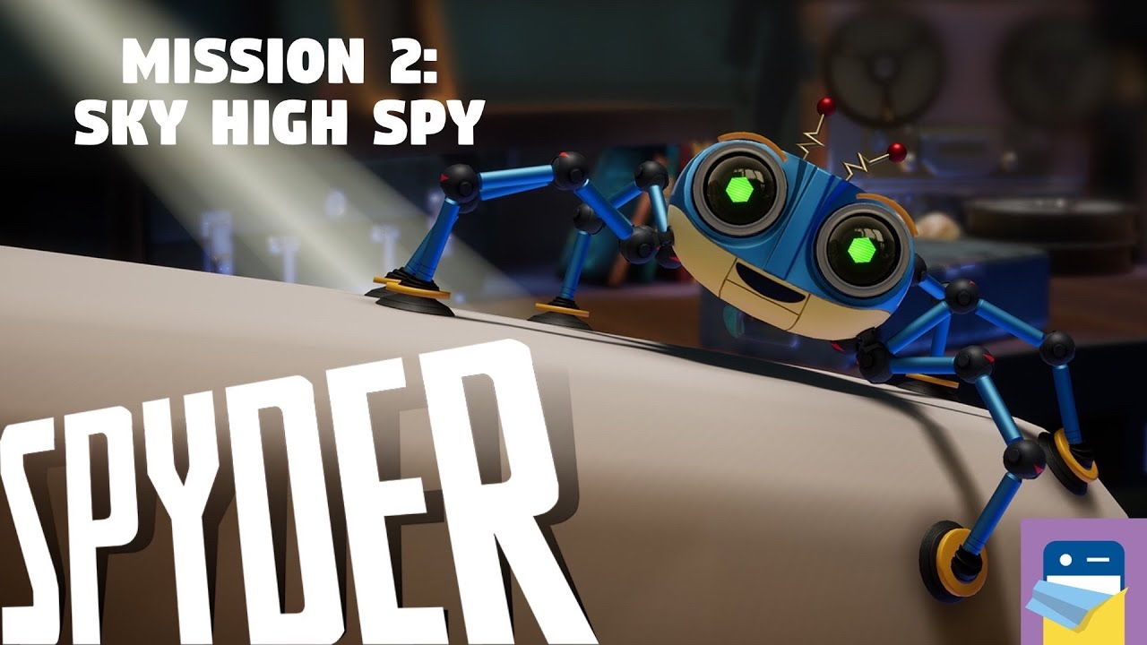 Spyder: Level 2 Sky High Spy Walkthrough Guide & Apple Arcade iOS ...