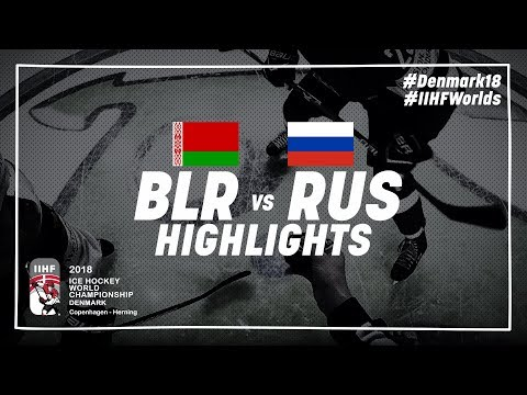 Game Highlights: Belarus vs Russia May 7 2018 | #IIHFWorlds 2018