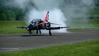 Giant RC turbine Jet UK Royal Air Force BAe Hawk 30KG Schub
