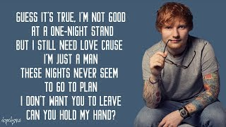 Ed Sheeran Stay With Me Lyrics.mp3