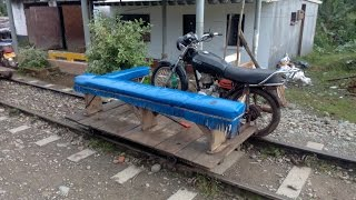 Заезд на пионерке по узкоколейке от Кордобы до Сан Сиприано, Колумбия