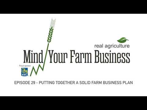 Planning Your Successful Farm Business