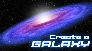 Sıfırdan Derin Uzayda bir Galaksi Oluşturma Photoshop: