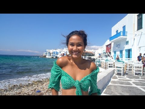 Summer in Mykonos, Greece (party and beach clubs)
