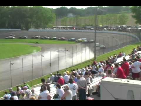 Madison International Speedway Crash Hilites