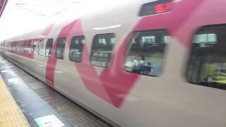 20180705 徳山駅にて ハローキティ新幹線