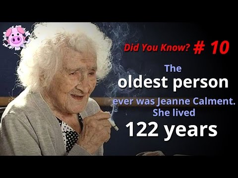 The Oldest Things On The Planet – DID YOU KNOW? #10