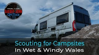 Scouting for future Campsites around North Wales