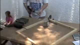 Speed Woodworking: Wendy House Window