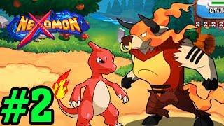 NHẬN ĐƯỢC TRÂU LỬA SIÊU NGẦU - Nexomon Game Giống Pokemon Phiên Bản Mobile #2