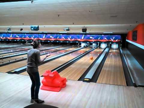 Tara at coalition tech bowling