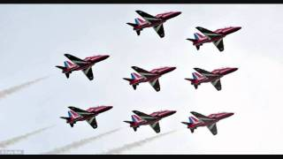 Red Arrows transit Audio 21/09/11 From Scampton to Salon