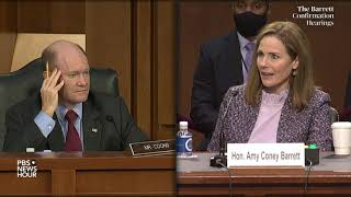 WATCH: Highlights from Amy Coney Barrett's Supreme Court confirmation hearing - Day 3
