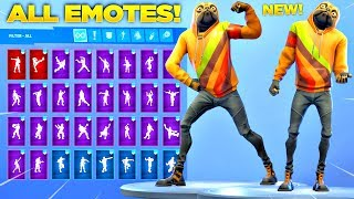 *NEU* DOGGO SKIN Showcase mit allen Fortnite Tänzen & Emotes! (Fortnite Hundehaut)