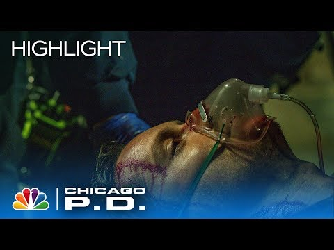 Halstead's Been Shot And Is Off To Med - Chicago PD