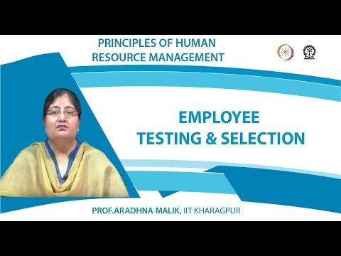 Employee testing & selection