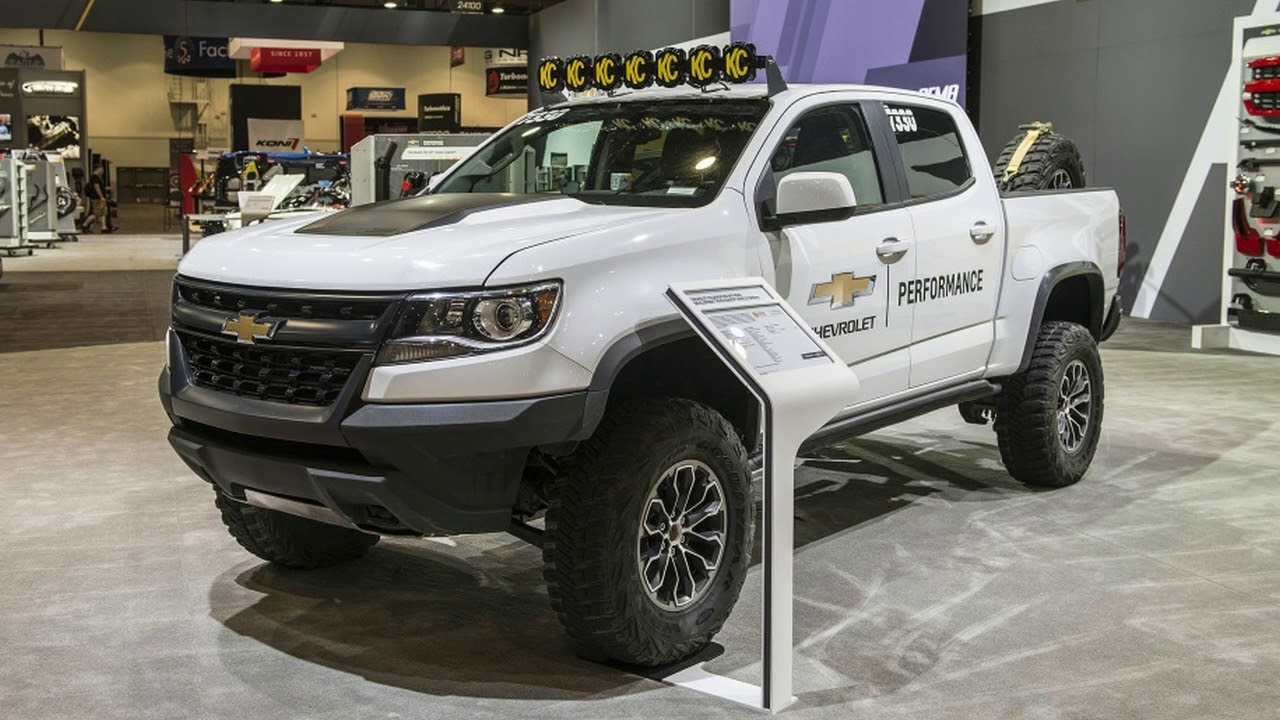 Sema 2017 2018 Chevy Colorado Zr2 Aev And Race
