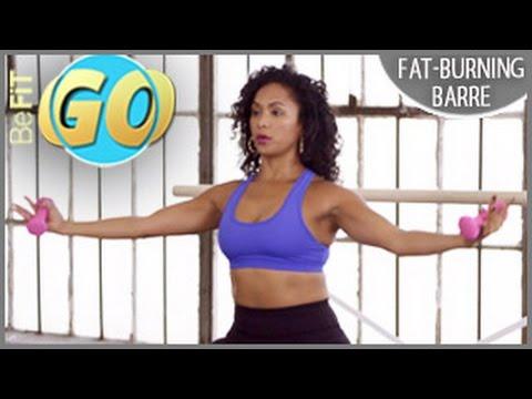 Fat-Burning 15 Min Barre Workout for Mobile: BeFiT GO
