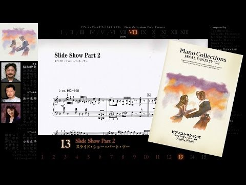 [Scrolling Sheet] Piano Collections: Final Fantasy VIII -Full Album-