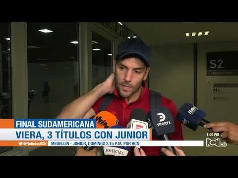 Sebastián Viera, Capitán Del Junior, Habla Tras La Caída En La Final De La Copa Sudamericana
