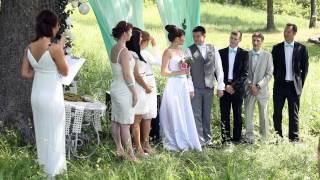 свадьба в диком саду   видеограф Максим Буров