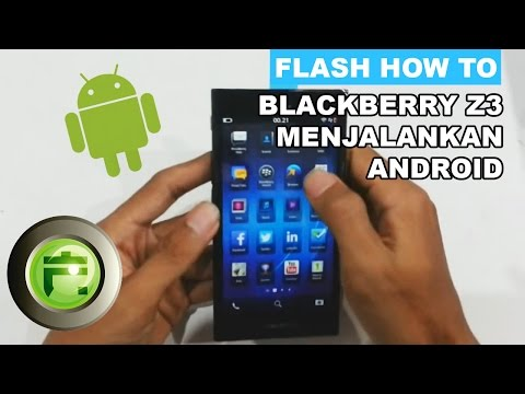 BlackBerry Z3 run Android Apps Tips and Trick by FlashGadgetStore Indonesia