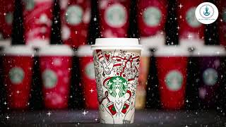 Christmas Songs Atmosphere and Snow / Starbucks Coffee  Relax Music for Work and Stud