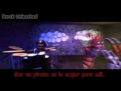 Песня Фокси Ведь мы Пираты на английском