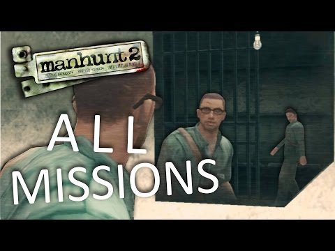 Manhunt 2 - All Missions Marathon [Uncensored]
