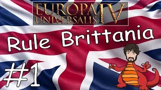 Rule Britannia! #1 | Historical England Into UK in Europa Universalis IV