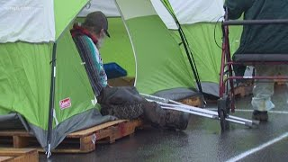 Businesses sue Olympia over homeless camping