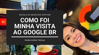 Visita ao Google BR | Ferramentas Google para Crescimento de Negócios
