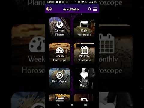Astromatrix Birth Chart Synastry Horoscopes Apps On Google Play
