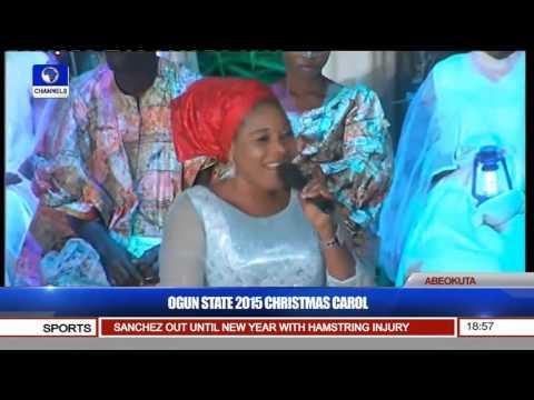 Singer Tope Alabi Thrills Ogun 2015 Xmas Carol Audience