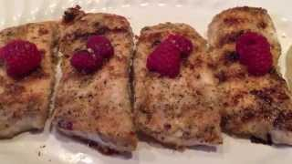 Birddog1227: Fresh Grilled Mahimahi Raspberry Lime