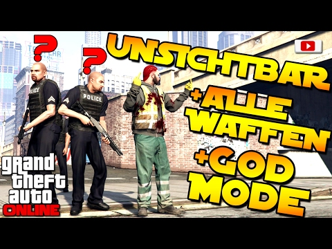 GTA 5 Online -🔥🔫Bester Unsichtbar + Waffen + Godmode Glitch!🔫🔥[Nach Patch 1.37, PS4, Xbox One, PC]