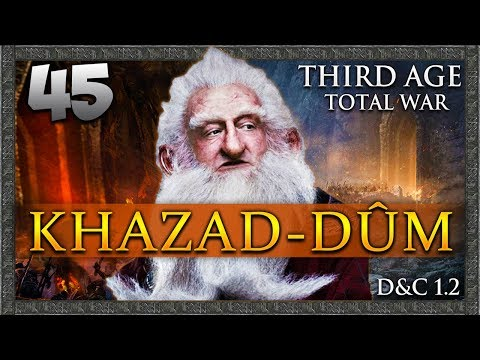 THE ROAD TO THE WHITE CITY! Third Age Total War: Divide & Conquer - Khazad-dûm Campaign #45