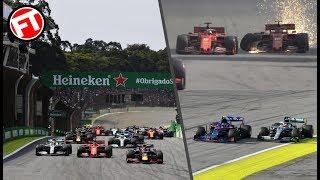 RESUMEN CARRERA GP BRASIL F1 2019 - ¡¡APOTEOSICO!! LOCURA EN INTERLAGOS ¡¡CON GASLY EN EL PODIO!!
