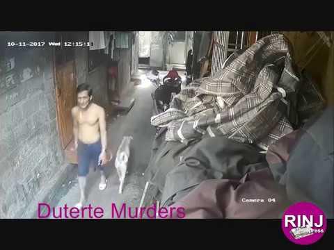 Premeditated State-Sponsored Murder CCTV Manila Barangay 19 Philippines