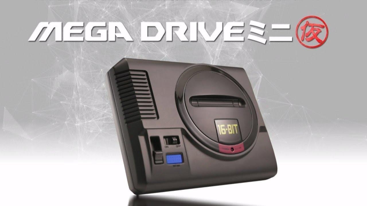 Анонсирована мини-версия Sega Mega Drive