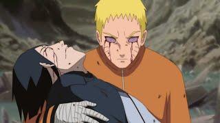 SASUKE'S DEATH in anime Boruto - Naruto took Sasuke's eyes | Boruto Episode Fan Animation