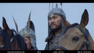 """Съемки второго сезона сериала """"Қазақ хандығы"""" проходят в Южноказахстанской области. Сцены"""