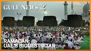 Inside the kitchen of UAE's biggest iftar