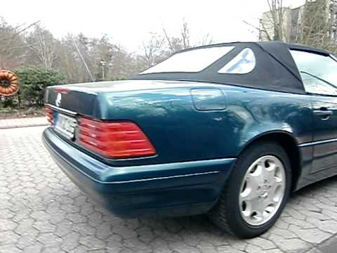 mercedes 280 sl cabrio harttop youtube. Black Bedroom Furniture Sets. Home Design Ideas