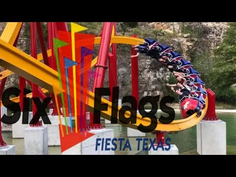 2018 Six Flags Fiesta Texas Tour & Review with The Legend
