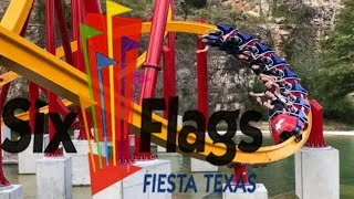 Six Flags Fiesta Texas Tour & Review with The Legend