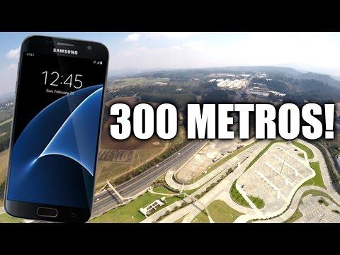 Samsung Galaxy S7 - Resiste caída desde 300 METROS??